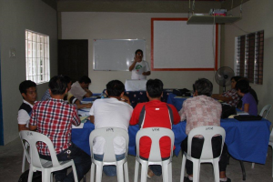 This is the training/classroom at our VFM office/house. We are so thankful VFM has such a nice place to use!