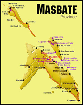 Masbate Philippines Map.Masbate Vision For Missions Philippines