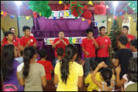 Kids for Christ puppet program